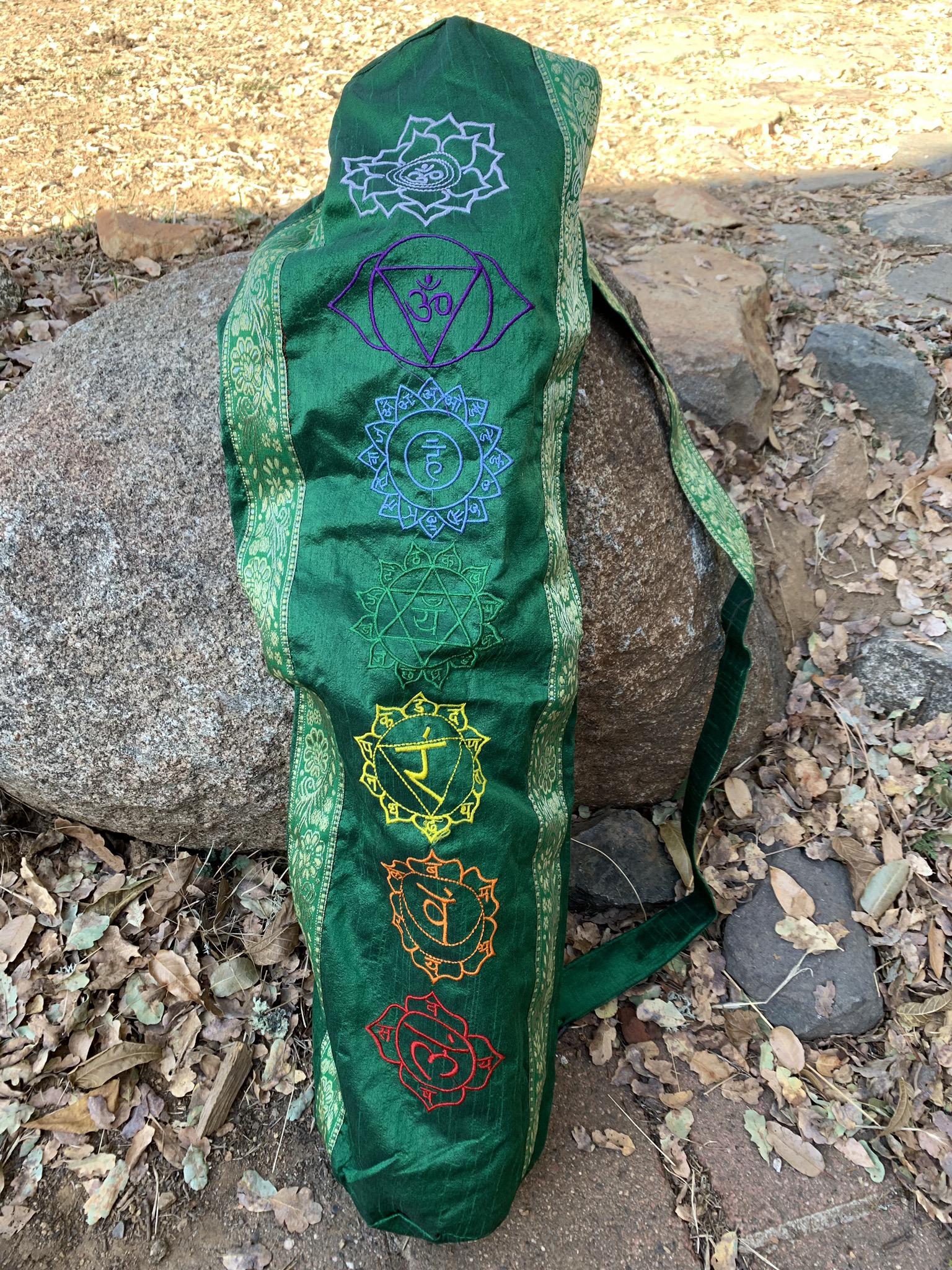 Green Yoga Mat Bag 00040