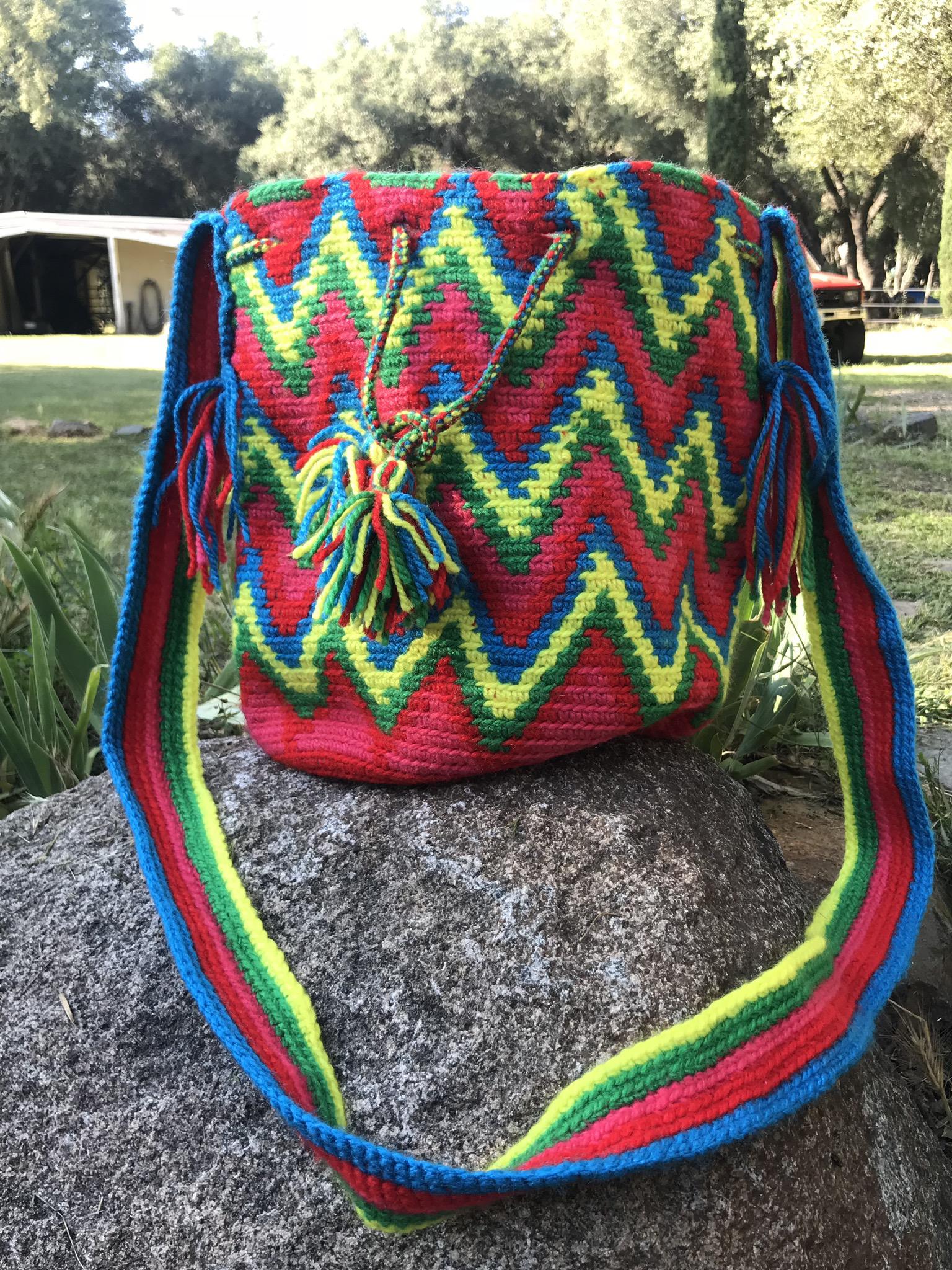 Bright Large Mochilla Bag 00073