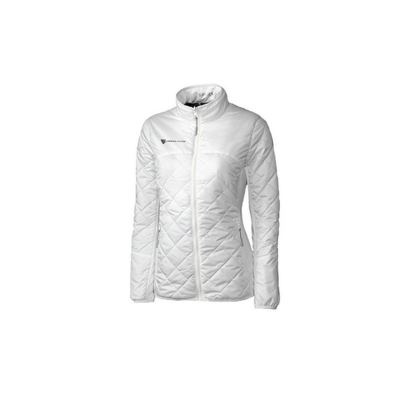 Cutter & Buck Ladies' L/S Lt Wt Sandpoint Quilted Jacket - Embroidered