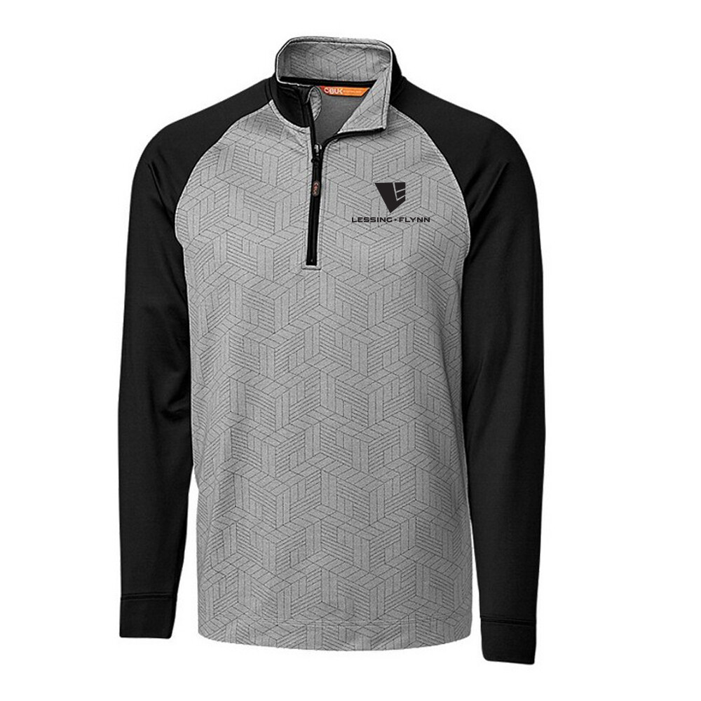 All-Star Printed Half Zip w/ Heat-sealed Logo