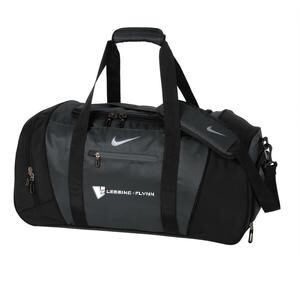 Nike Medium Duffel Bag - Black w/ Embroidered Logo