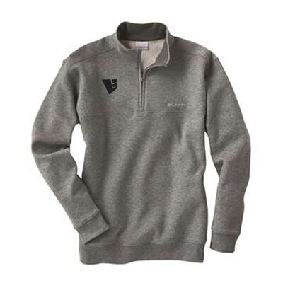 Columbia Hart Mountain Half Zip Sweatshirt w/ Embroidered Logo