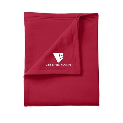 Port & Company Core Fleece Sweatshirt Blanket w/ Heat-sealed logo