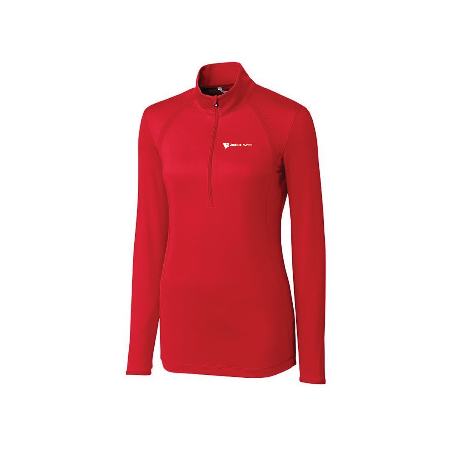 Cutter & Buck Williams Half-Zip with CB DryTec 50+UPF