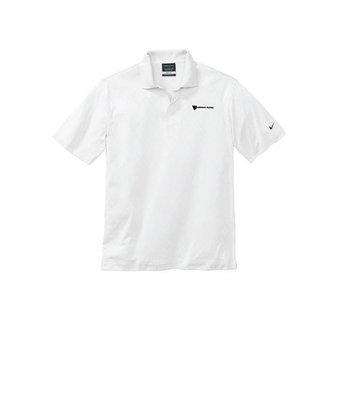 Nike Men's Golf Dri Fit Cross Over Texture Polo Shirt