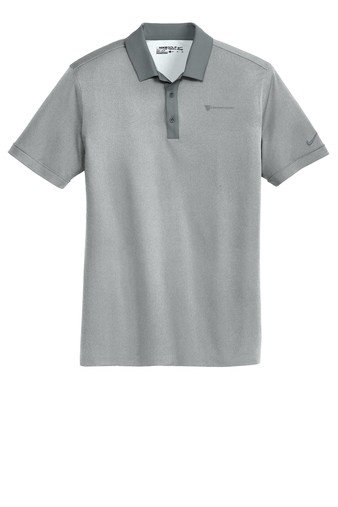 Nike Golf Dri-Fit Heather Pique Modern Fit Polo Shirt