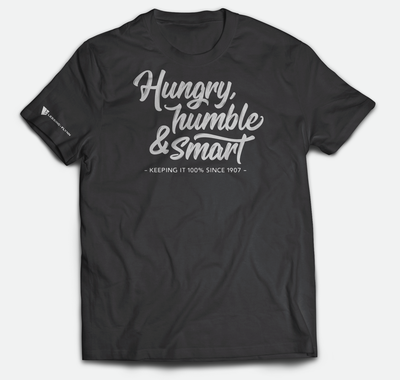 American Apparel Triblend Track T-Shirt - Tri-Black