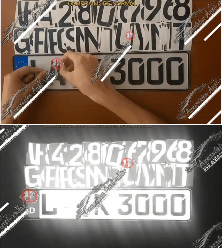 7 Anti Radar Stickers