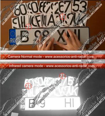 1 Sticker Photo blocker speedcam and red-Light