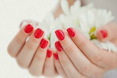 No Salon Manicure