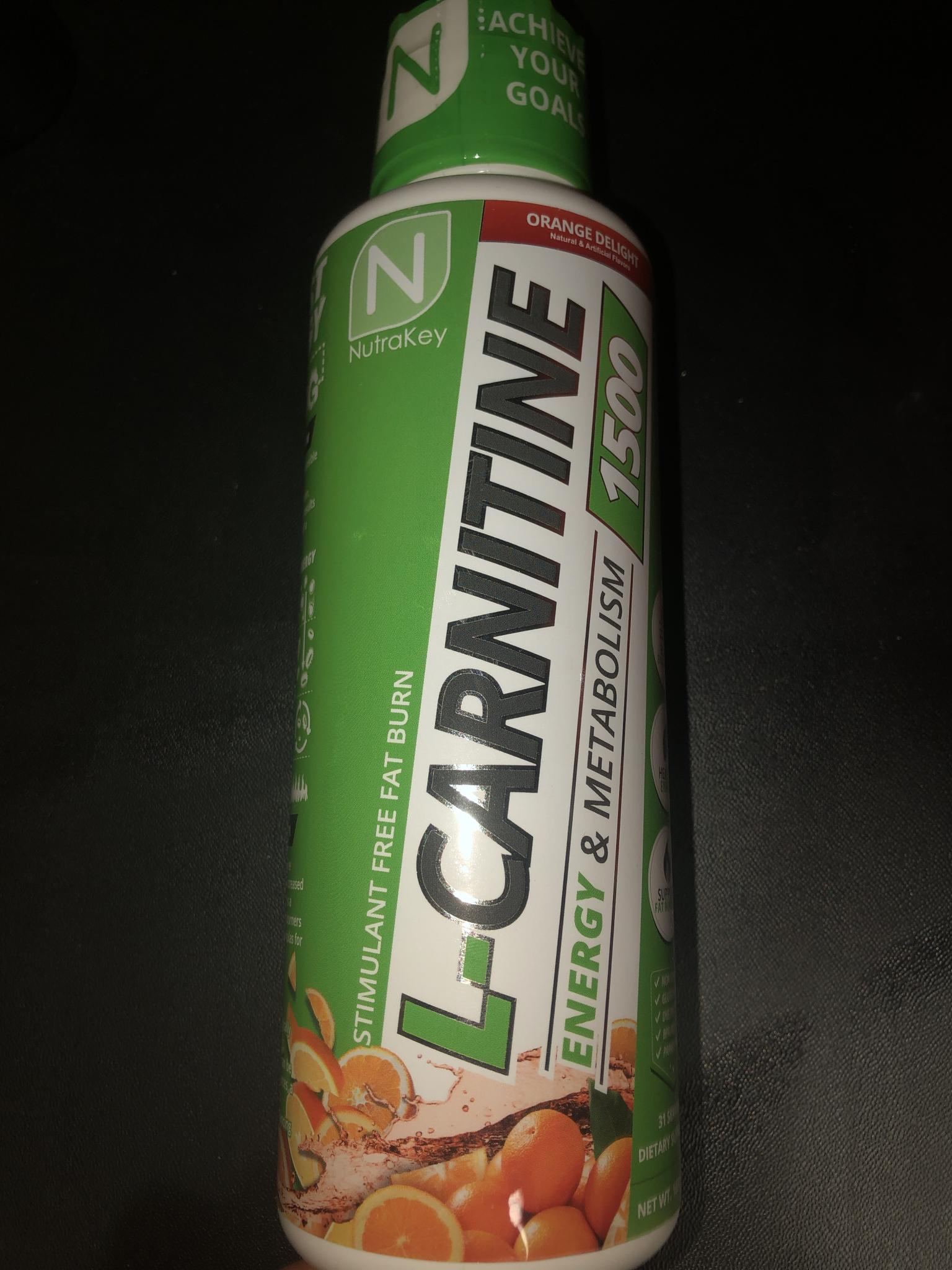 L-Carnitine 1500 Orange Delight KOHYROEW5FUN4Q6R355FGKNI