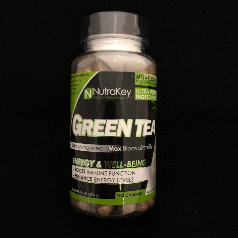 Green Tea Nutra Key 100 Capsules