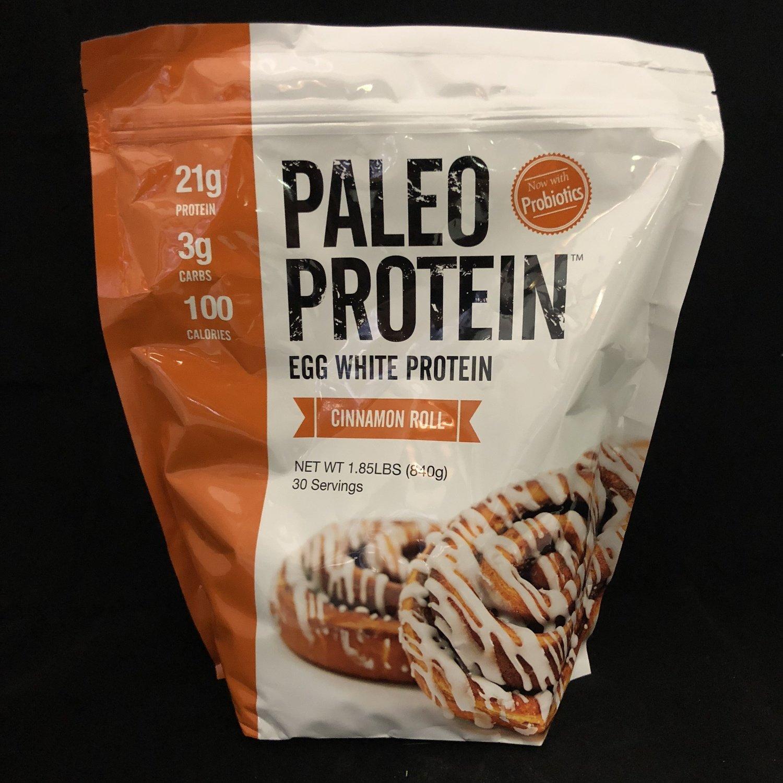 Paleo Protein Cinnamon Roll