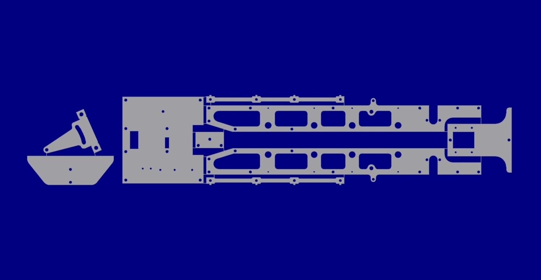 LRK 280 Mainframe - Inside Frame Kit