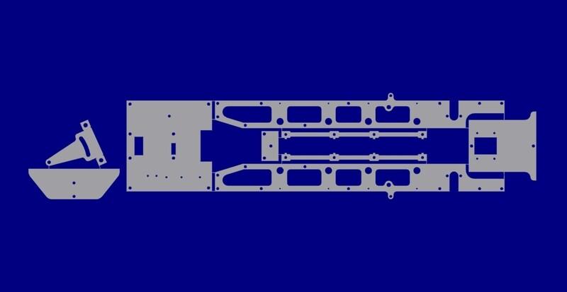 LRK 280 Mainframe - Outside Frame Kit