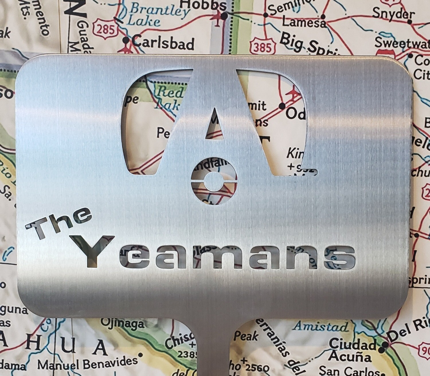 Camping Marker-Airstream Personalized