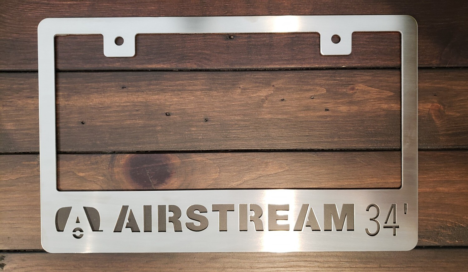 Airstream 34' License Plate Frame