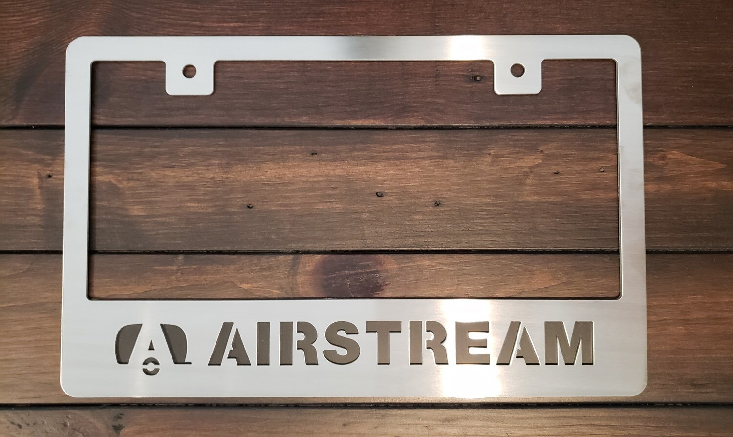 Airstream License Plate Frame
