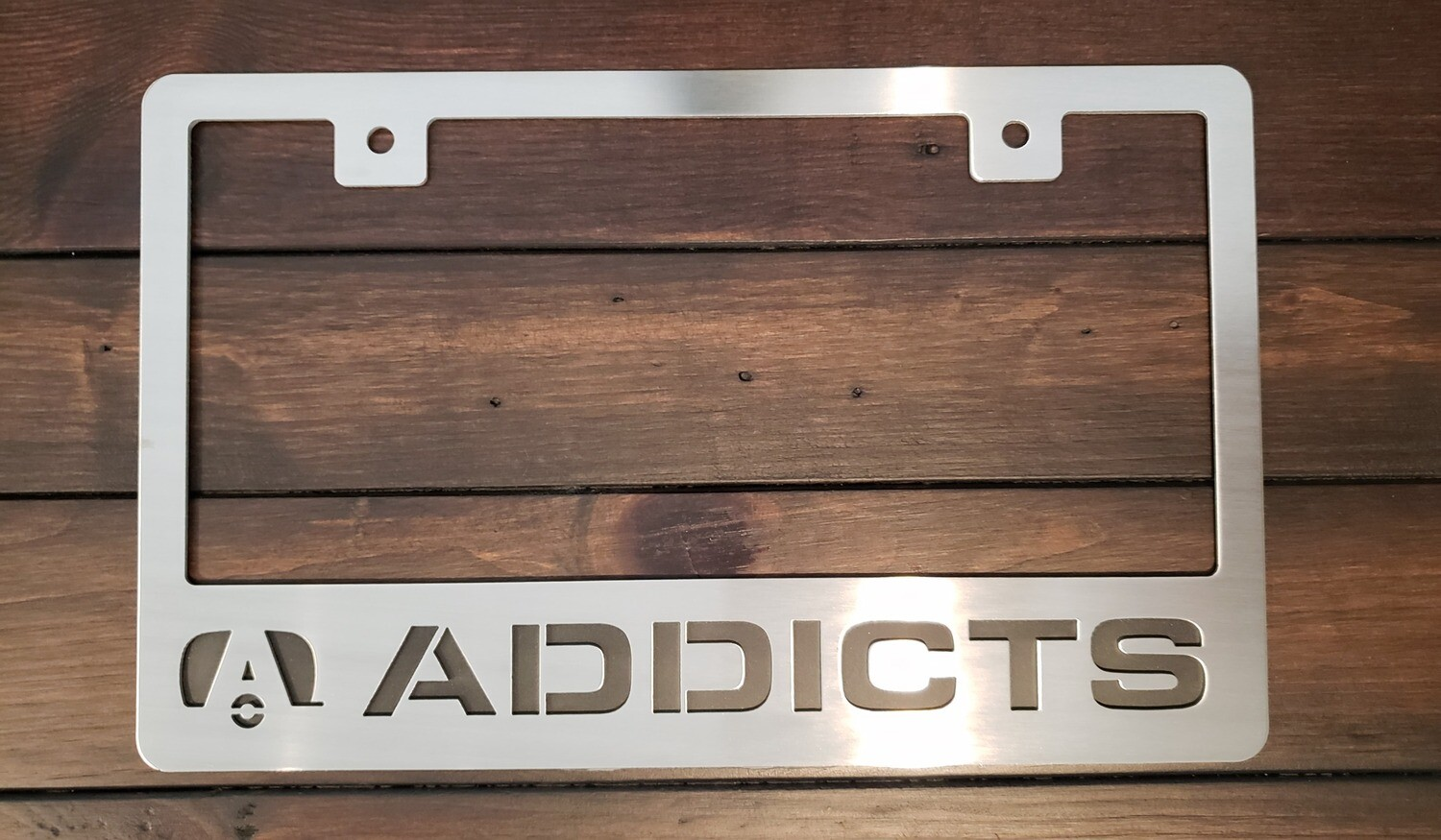 Airstream Addicts License Plate Frame