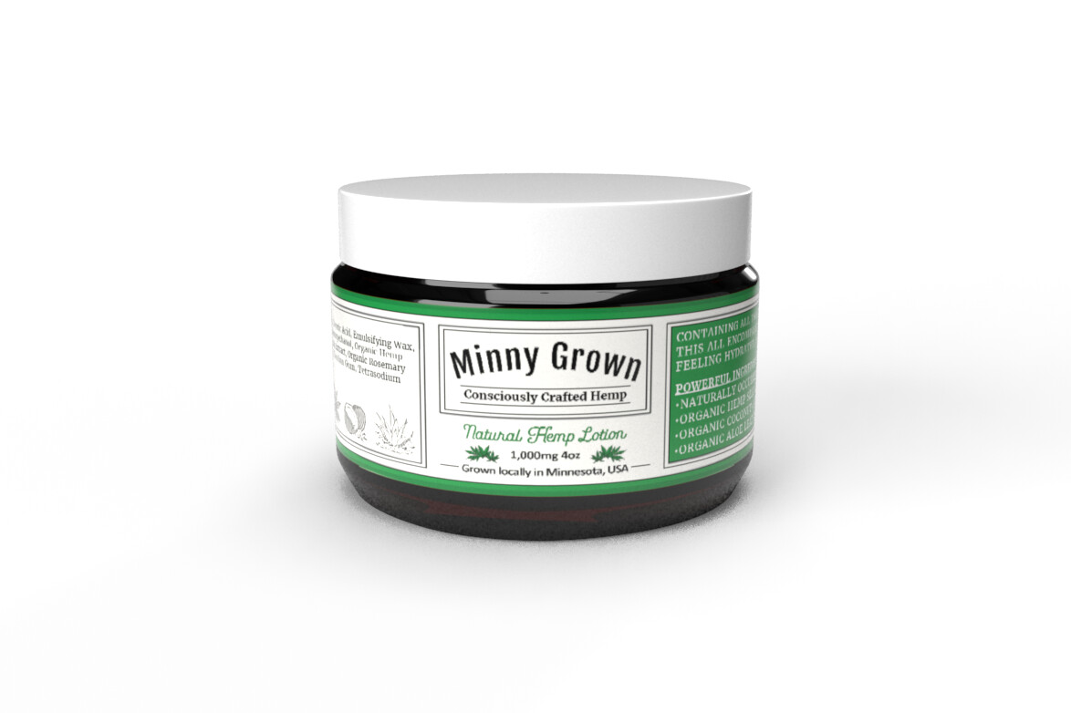 Minny Grown  | Body Butter & Lotion | 1000MG