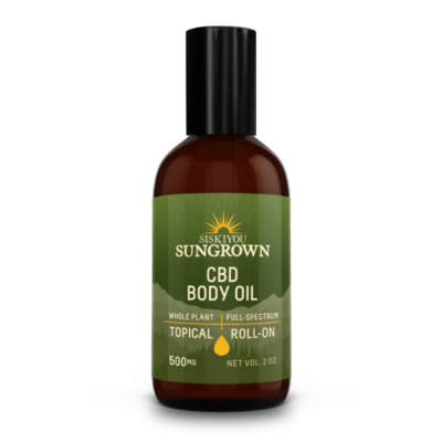 Siskiyou Sungrown | Body Oil | 500MG