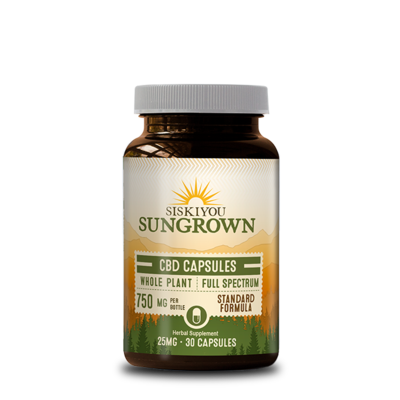 Siskiyou Sungrown | Hemp Concentrate | 750 MG Capsules