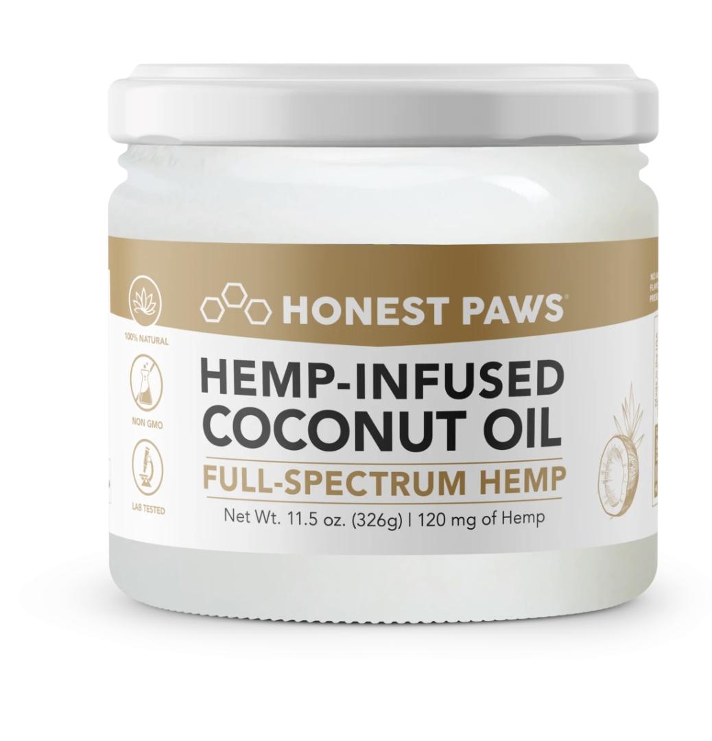 Hemp-Infused Coconut Oil