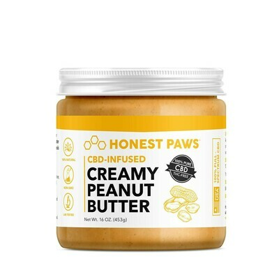 Creamy Hemp Peanut Butter for Dogs - Best seller