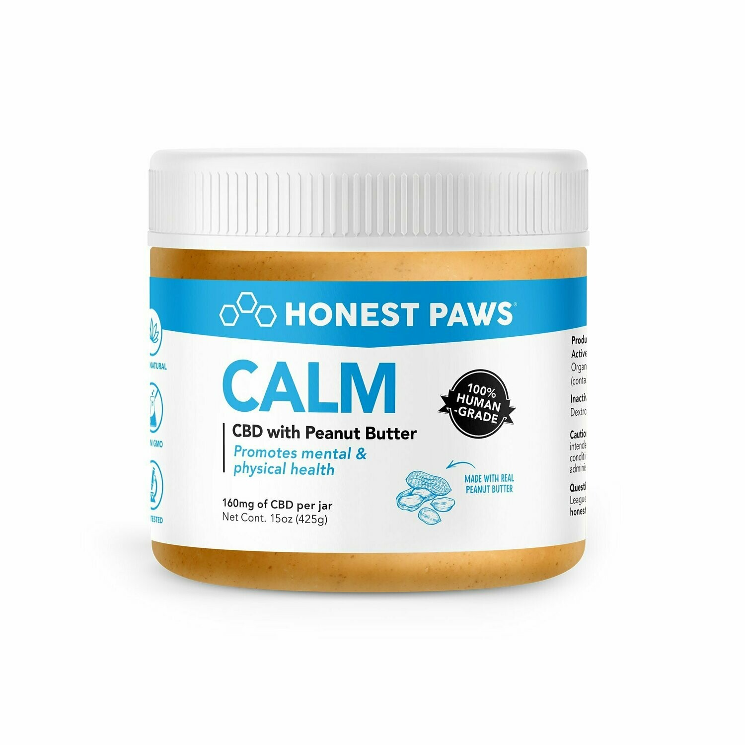 CALM CBD with Peanut Butter | 160MG