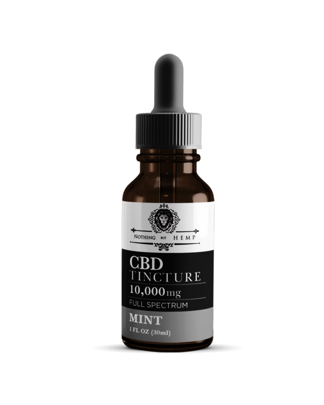 10,000MG CBD OIL | Nothing But Hemp