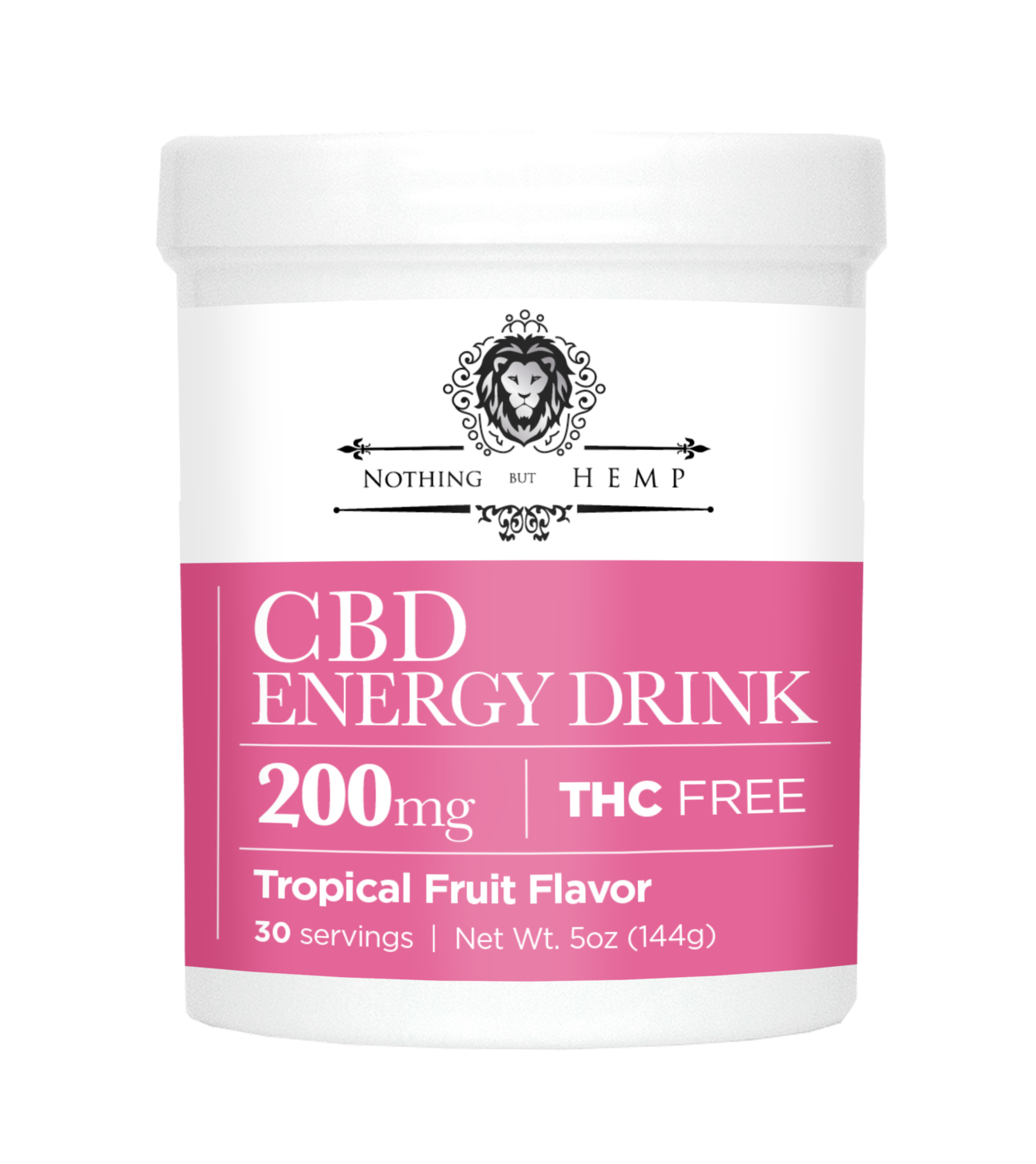 Nothing But Hemp |Tropical Fruit CBD RECOVERY + ENERGY DRINK