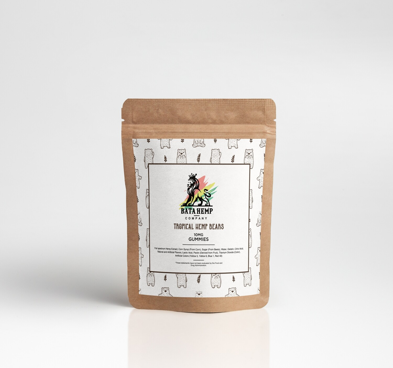 Bata Hemp Gummies | 30 Gummies | 3 Packs of 10 bundle pack (offered online only)