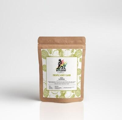 Bata Hemp | 50MG | Pineapple Hempy Gummies | 10 Per Unit | Bundle 3 Packs