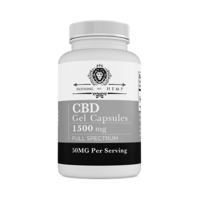 Nothing But Hemp| Full Spectrum | 1500MG Capsules