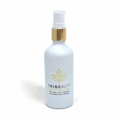 CBD Rose + Goji Facial Toner | Reduces Pores, Cleanses, Hydrates, Balances PH