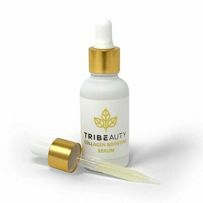 CBD Collagen Boosting Serum | 5-in-1: Firms, Tones, Plumps, Hydrates + Protects