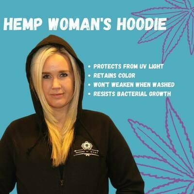 Nothing But Hemp | Organic Woman's Hemp Hoodie