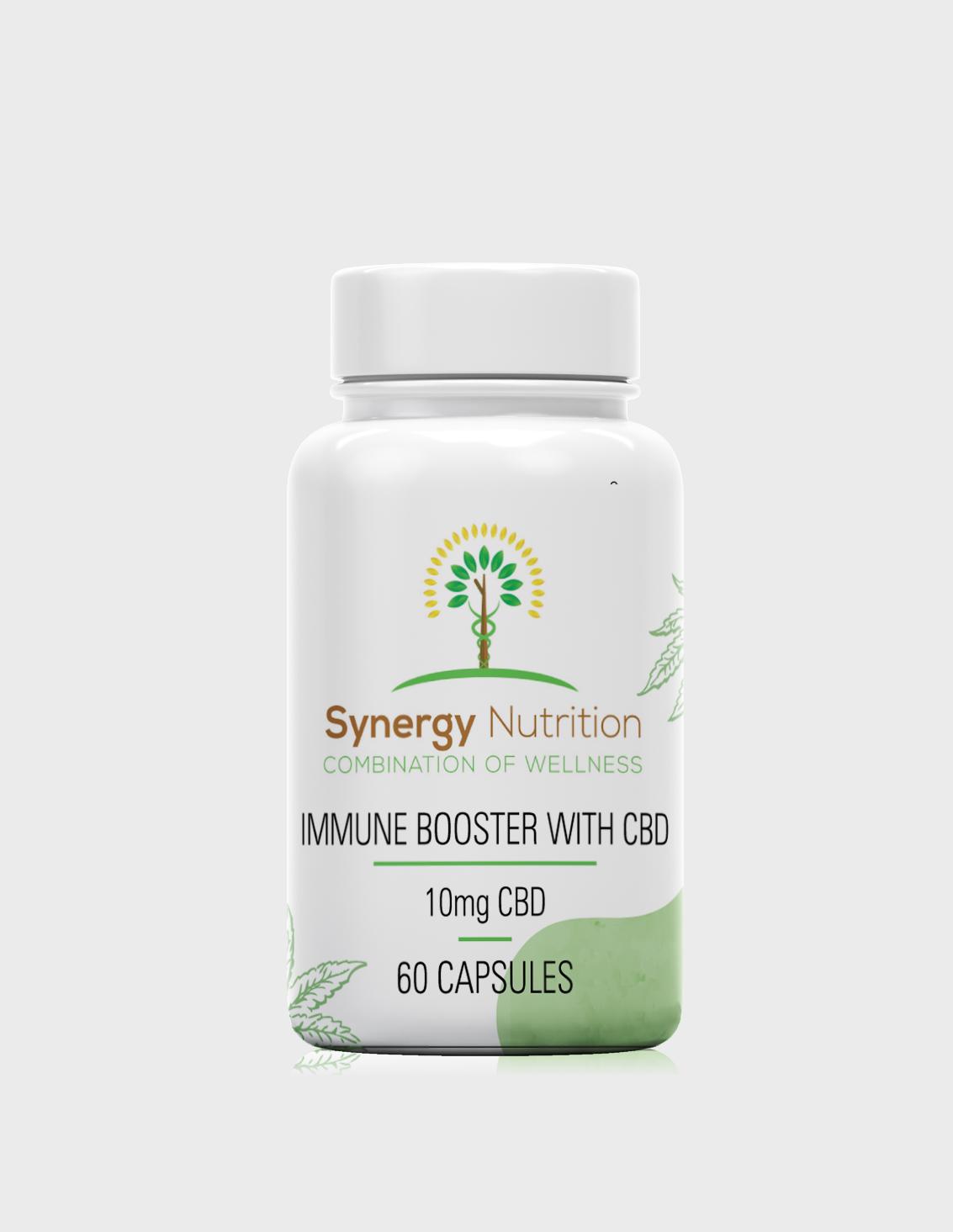 600MG | CBD Capsules with Immune Boosting Herbs