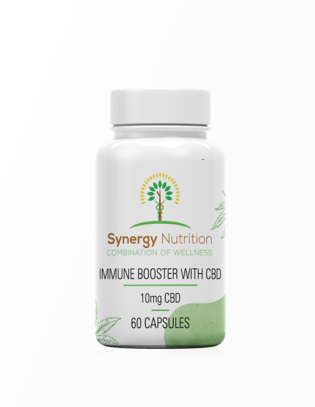 600MG | CBD Capsules with Immune Boosting Herbs