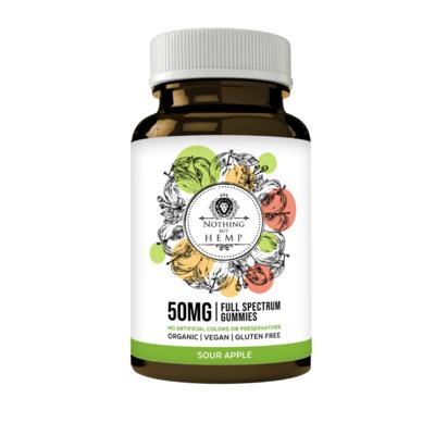 Sour Apple | CBD Full Spectrum | 1000MG | Gummies (under 0.3% Total THC Dry Weight basis)