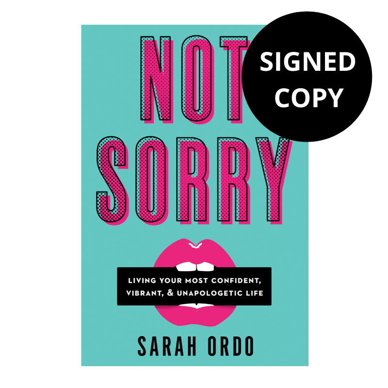 Not Sorry (Signed Copy)