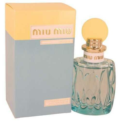 Miu Miu L'eau Bleue By Miu Miu Eau De Parfum Spray 3.4 Oz For Women