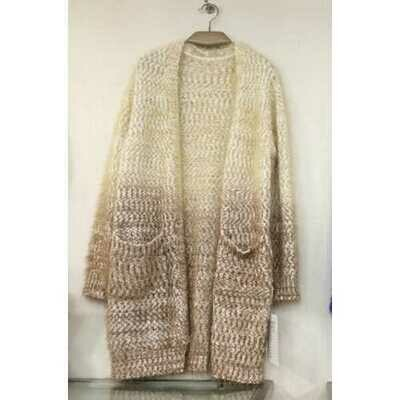 Wholesale Fashion Europe Mohair Sweaters Coat