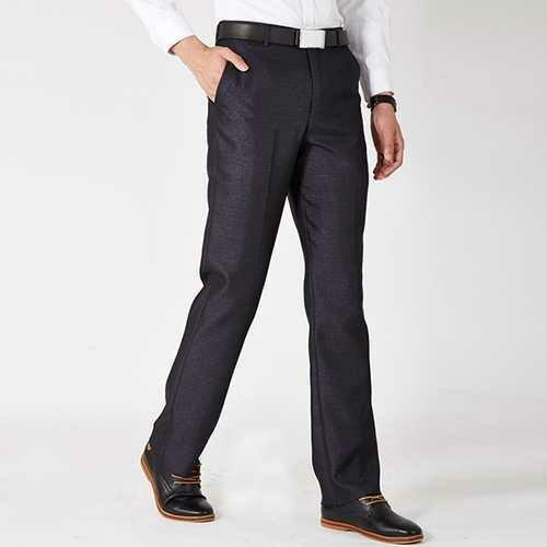 Spring Summer Men's Business Casual Suit Pants Professional Straight Dress Suit Pants