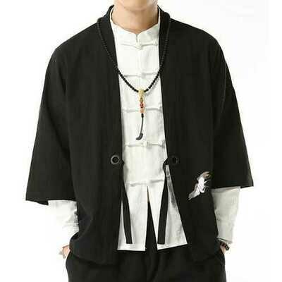 Vintage Chinese Style Embroidery Hanfu Sunscreen Shirt Cloak
