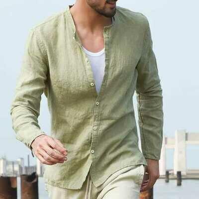 INCERUN Casual Fashion Cotton Comfy Breathable Loose Shirts