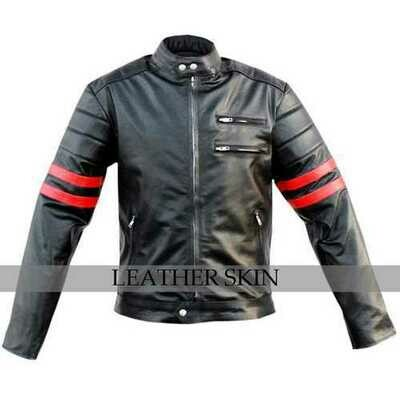 X-men Wolverine Costume Leather Jacket