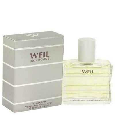 Weil Pour Homme By Weil Eau De Toilette Spray 1.7 Oz (pack of 1 Ea)