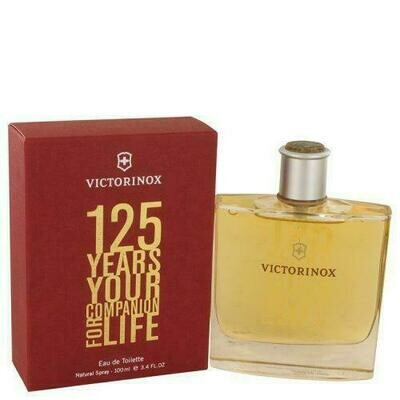 Victorinox 125 Years By Victorinox Eau De Toilette Spray (limited Edition) 3.4 Oz (pack of 1 Ea)