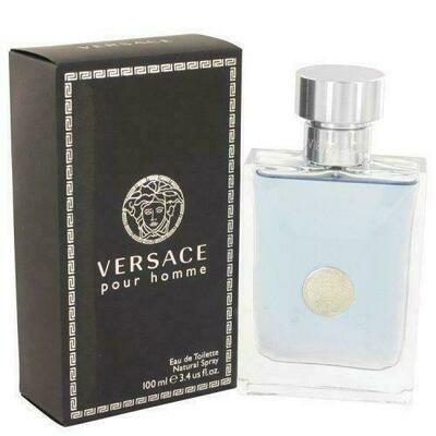 Versace Pour Homme By Versace Eau De Toilette Spray 3.4 Oz (pack of 1 Ea)